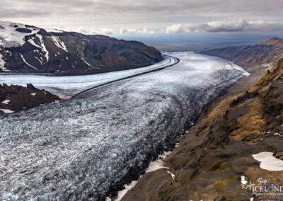 Skaftafellsjökull Glacier outlet │ Iceland Landscape from Air
