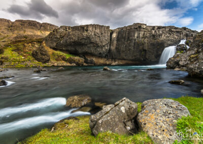 Skorhagafoss in Brynjudalsá - South West │ Iceland Landscape