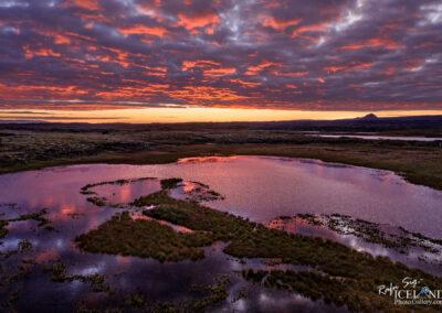 Snorrastaðatjarnir lakes - South West │ Iceland Landscape Pho