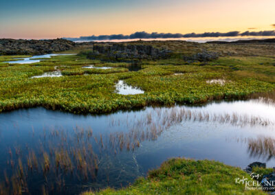 Snorrastaðatjarnir │ Iceland by drone