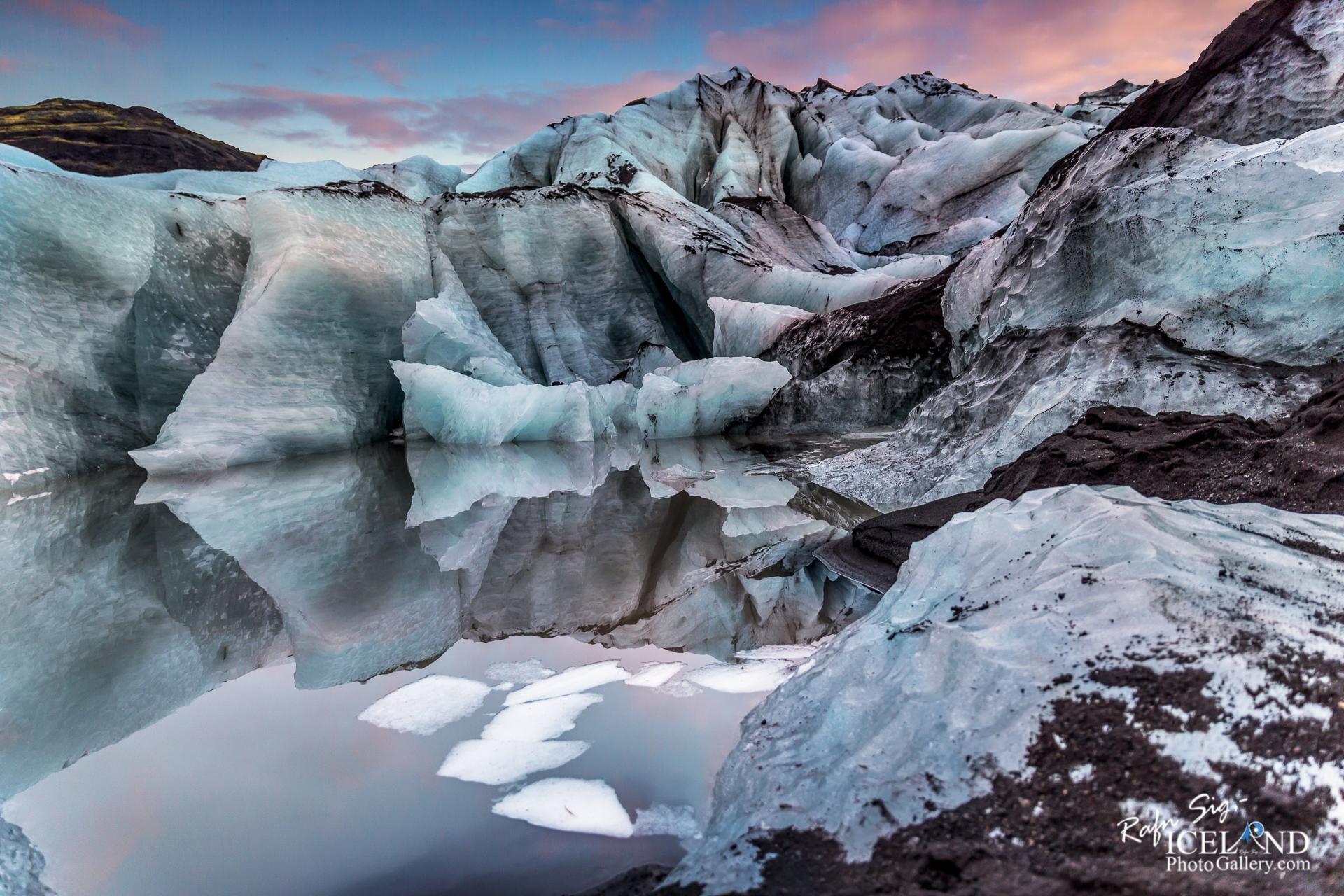 Sóheimajökull Glacier - South │ Iceland Landscape Photograp
