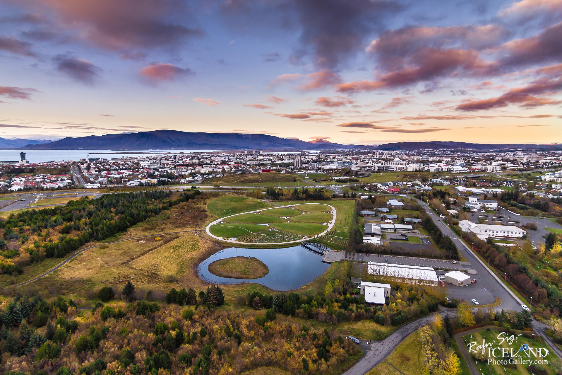 Sólland Dustgraveyard Reykjavík Capital │ Iceland from air