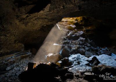 Stefánshellir lava cave - West │ Iceland Landscape Photograph