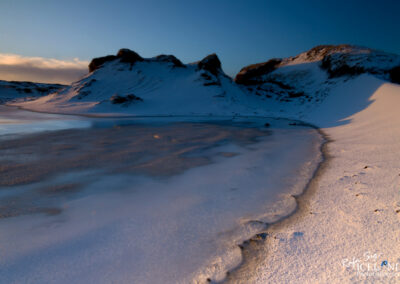 Stóra Sandvík Black Beach - South West │ Iceland Landscape P