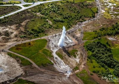 Strokkur fountain geyser │ Iceland Landscape Photography