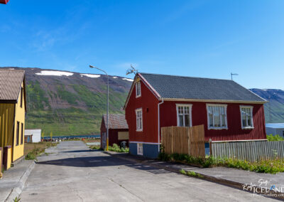 Suðureyri village - Westfjords │ Iceland City Photography