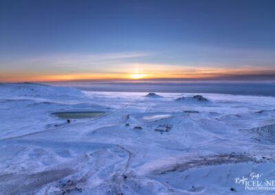 Sveifluháls down to Bleiksmýri on Krísuvíkurheiði │ Icela