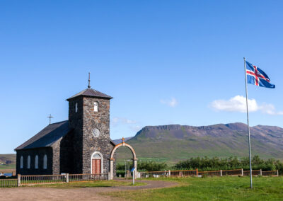 Þingeyri Church – North │ Iceland City Photography