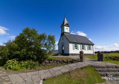 Þingvallakirkja at Þingvellir - South │ Iceland Landscape P