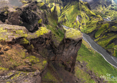 Þórsmörk Valley │ Iceland Landscape From Air