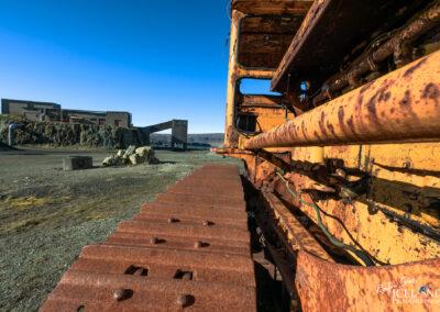 The old rhyolite mine in Hvalfjörður - West │ Iceland Landsc