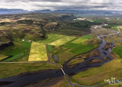 Tungufljót river in Skaftártnga │ Iceland Landscape from Air