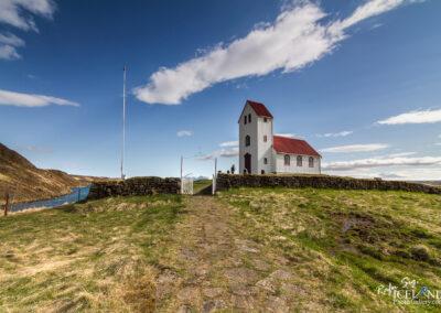 Úlfljótsvatnskirkja church - South │ Iceland Landscape Pho