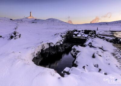 Valborgarkelda Swimming Pool - South West │ Iceland Landscape