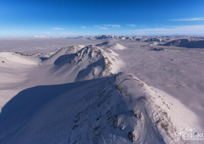 Valley of Sauðadalir, Mountain ridge │ Iceland Landscape from
