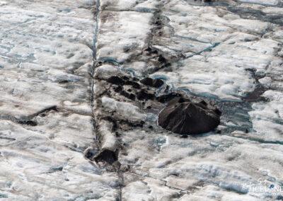 Vatnajökull Glacier Patterns│ Iceland Landscape from Air