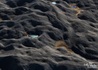 Water in the sand in the Highlands │ Iceland Landscape From Ai