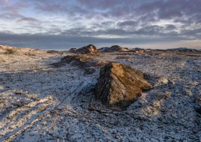 Latur and Latstögl in Ögmundarhrauni │ Iceland Landscape Pho
