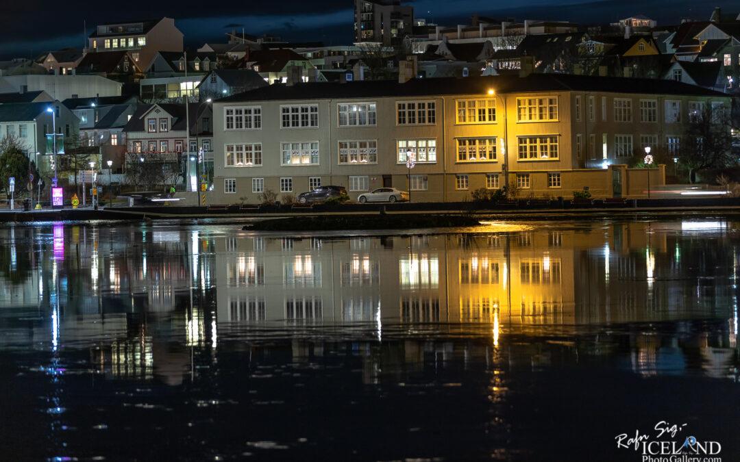 Miðbæjarskólinn in Reykjavík – Iceland City Photography