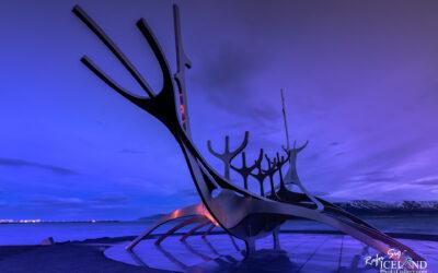 Sólfarið - The Sun Voyager │ Iceland City Photography