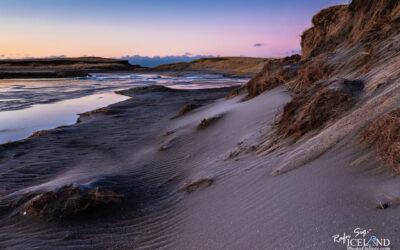 Vogsós river in the Twilight │ Iceland Landscape Photography