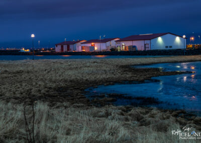 Fish processing houses in Vogar │ Iceland city Photography