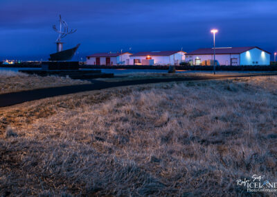 Fish processing houses │ Iceland city Photography