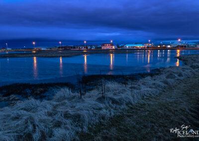 Hafnargata street in Vogar │ Iceland city Photography