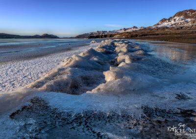 Kleifarvatn Lake in Winter │ Iceland Landscape Photography