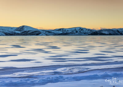 Kleifarvatn Lake in the morning Glow│ Iceland Landscape Photog