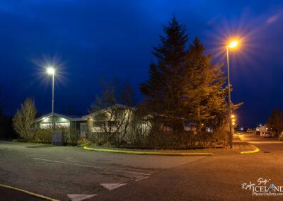 Street lighting in Vogar │ Iceland city Photography