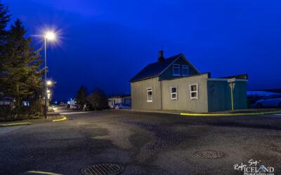 The small house on the corner - Vogar │ Iceland city Photograp