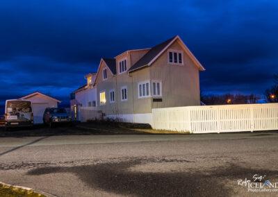 Tjarnargata street in Vogar │ Iceland city Photography