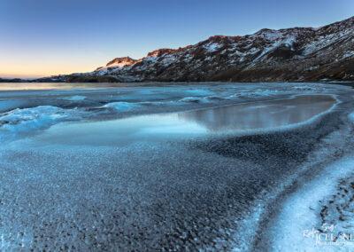 Kleifarvatn Lake in Winter │ Iceland Photo Gallery