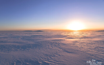 Mýrdalsjökull Glacier in the morning twilight │ Iceland Photo Gallery