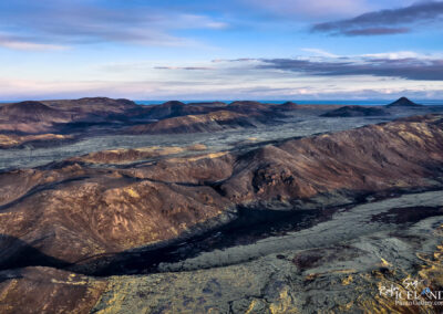 Núphlíðarháls to Keilir │ Iceland Landscape from air