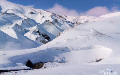 Strútslaug Geothermal Spa in the Highlands │ Iceland Landscape