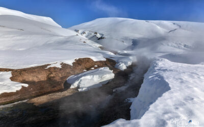 Strútslaug Natural Spa in the Highlands │ Iceland Photo Galle