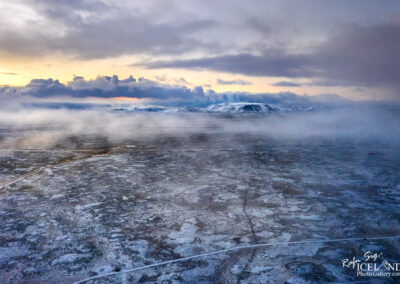 The Eruption site from my home │ Iceland Photo Gallery