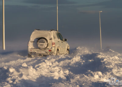Vogar - Snowstorn │ Iceland Photo Gallery