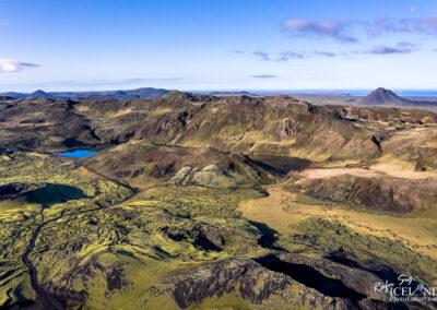 Djúpavatn Lake with Volcano Keilir - South West │ Iceland Photo Gallery