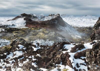 Eldvörp Crades │ Iceland Landscape Photography