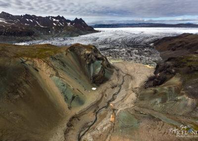 Grænafjall at Glacier Vatnajökull │ Iceland Landscape from A