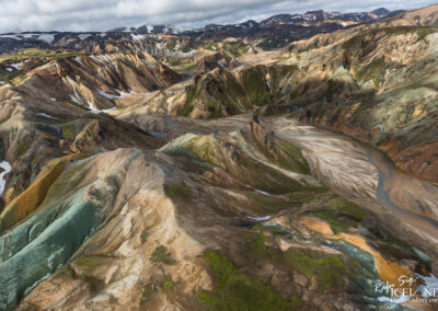 Grænihryggur (Green Backbone) - Fjallabak Nature Reserve.