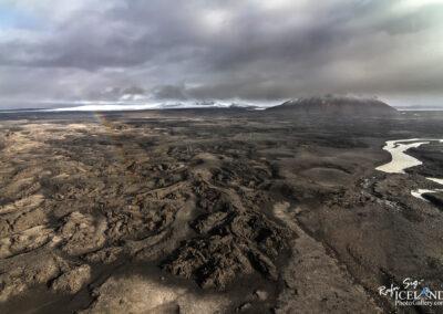 Hágönguhraun Lava field and Kaldakvísl river│ Iceland Lands