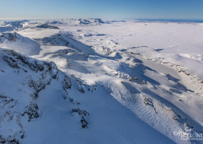 Hengill volcano area │ Iceland Landscape from Air