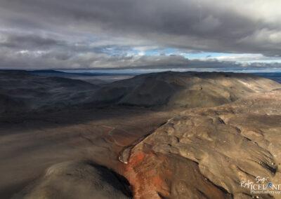Highlands desert │ Iceland Landscape from Air