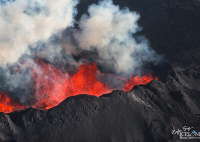 Volcanic eruption Holuhraun