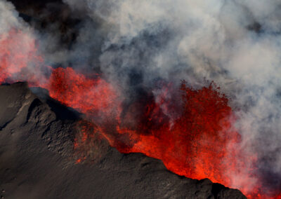 Holuhraun Volcanic eruption in the Highlands │ Iceland Photo Gallery