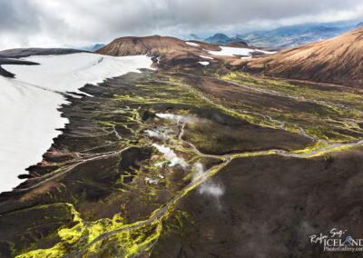 Hrafntinnusker Geothermal area in the Highlands │ Iceland Phot